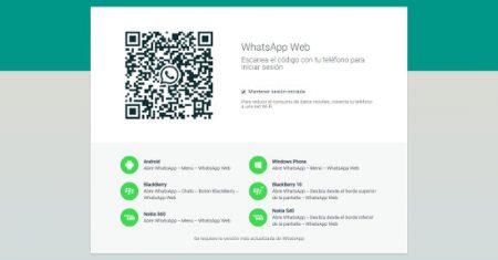 whatsapp acceso desde el navegador web