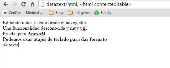 Chrome-textos