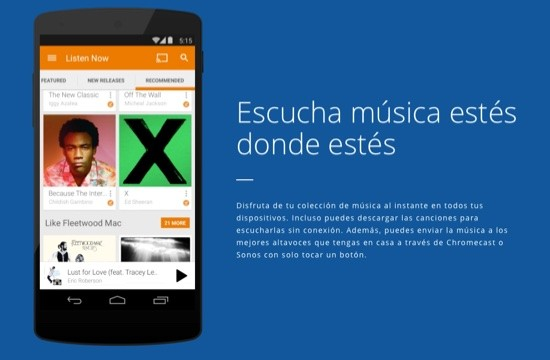Google Play Music 3