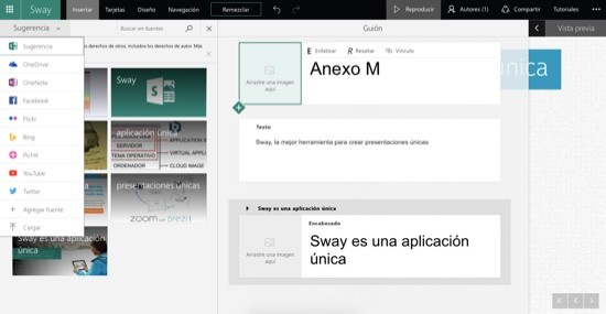Sway insertar