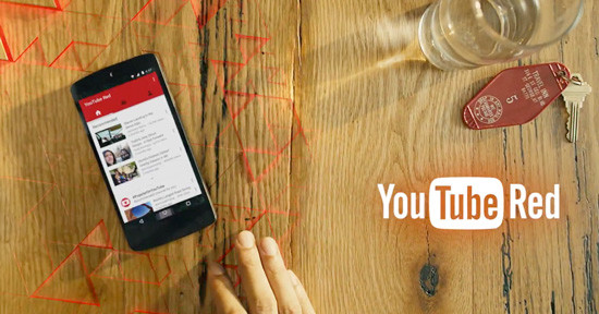 Youtube-red home