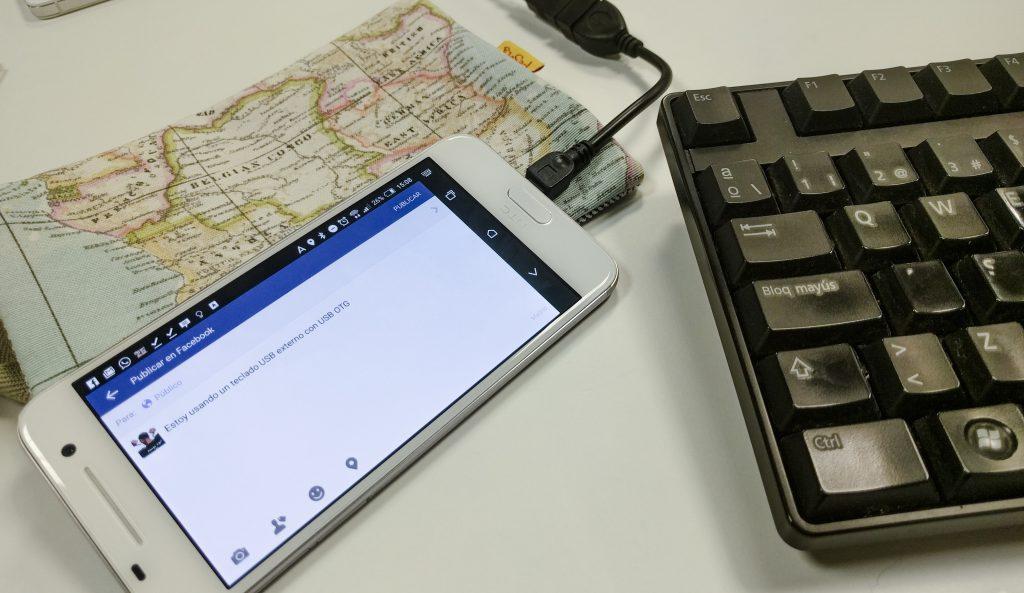 USB OTG teclado