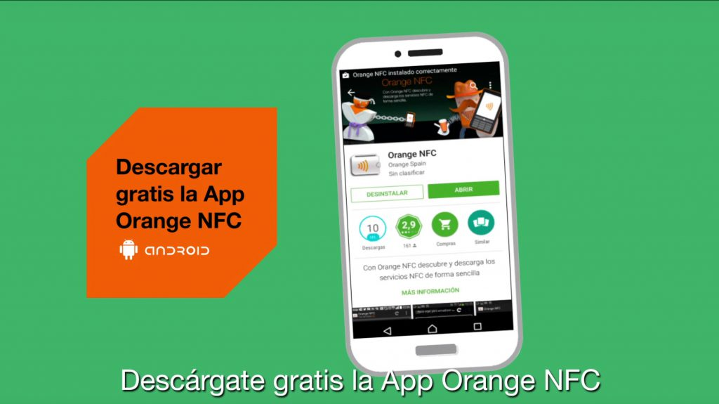 orange nfc c