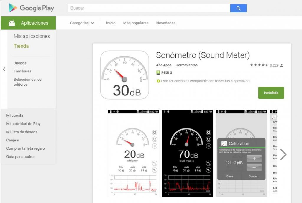 sonometro sound meter 2
