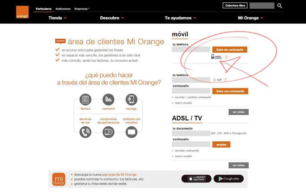 orange mobile connect 2b