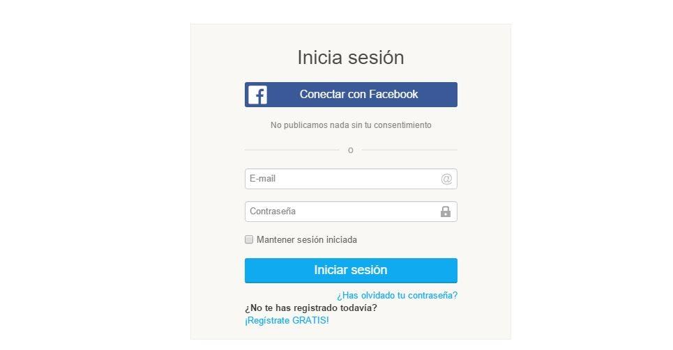 registro social facebook