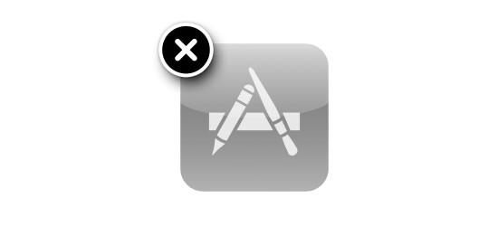 delete app
