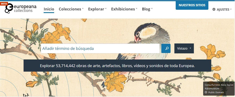Europeana 1 portal