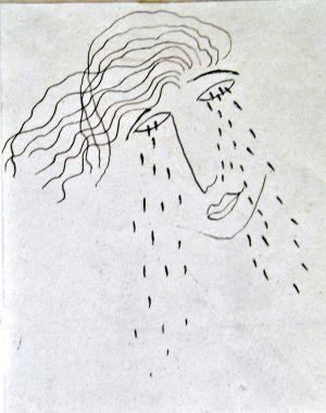 Un dibujo de Federico García Lorca para Juan Ramírez de Lucas.