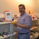 Miguel Ángel Valero muestra piezas 3D en el CEAPAT