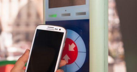 Tecnología NFC autobuses