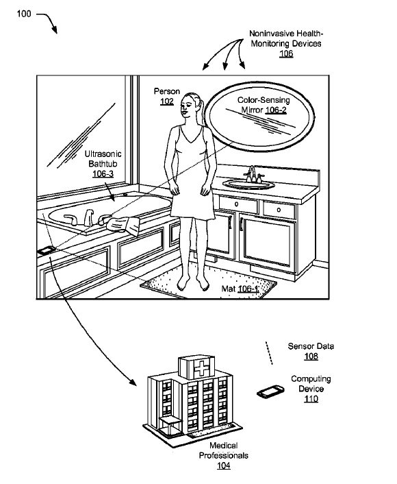 Patente de Google para el cuarto de baño