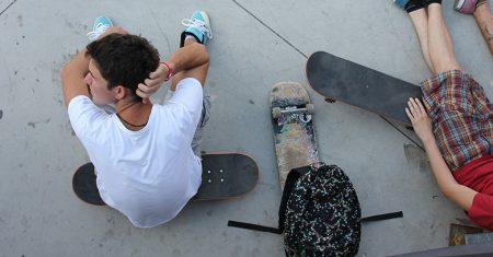 Adolescentes skaters - vida más allá de las redes sociales
