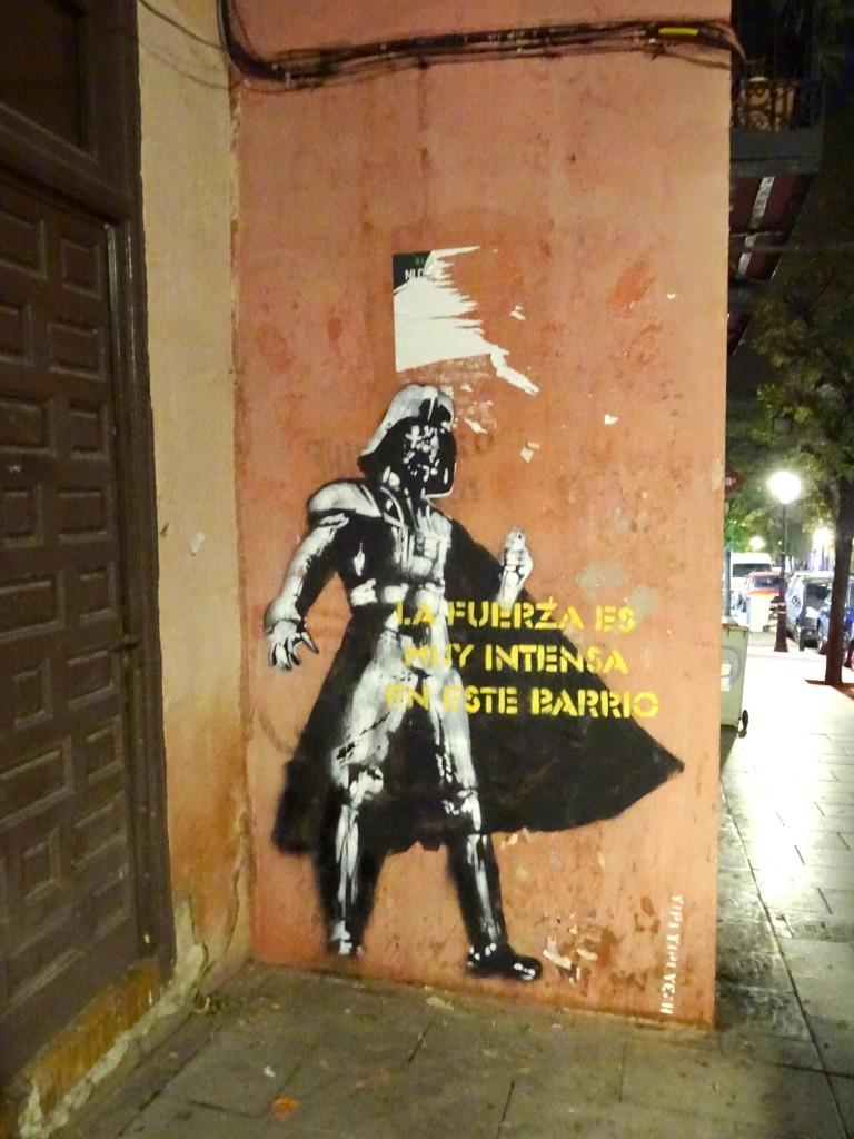 Darth Vader Malasaña