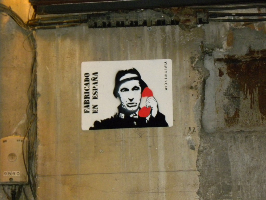 Yipiyipiyeah street art en Madrid