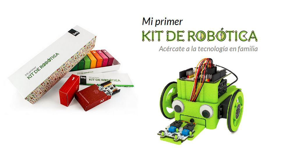 Juguetes tecnológicos: kit de robótica
