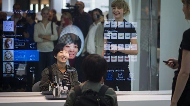 El espejo mágico de Panasonic