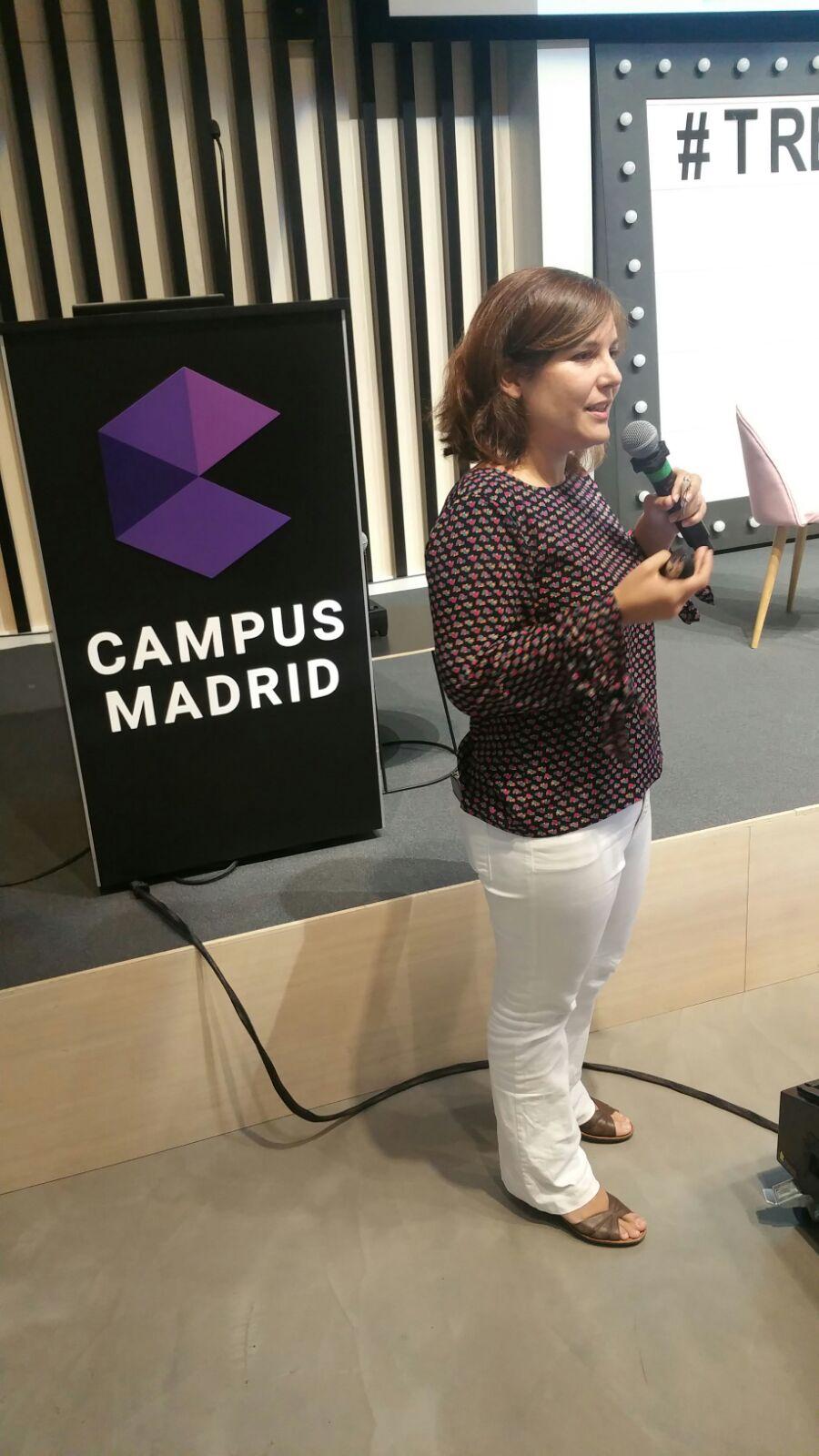 Blanca Villamía Uriarte de la Fundación Orange