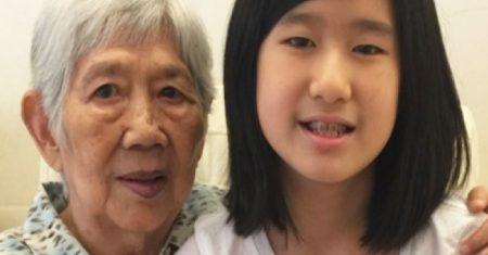 Eterno Emma Yang y su abuela. | Emma Yang