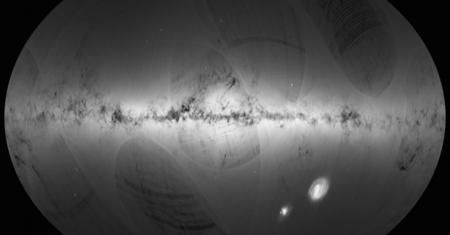 Mapa de estrellas Gaia
