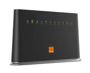 Router híbrido ADSL-4G de Orange
