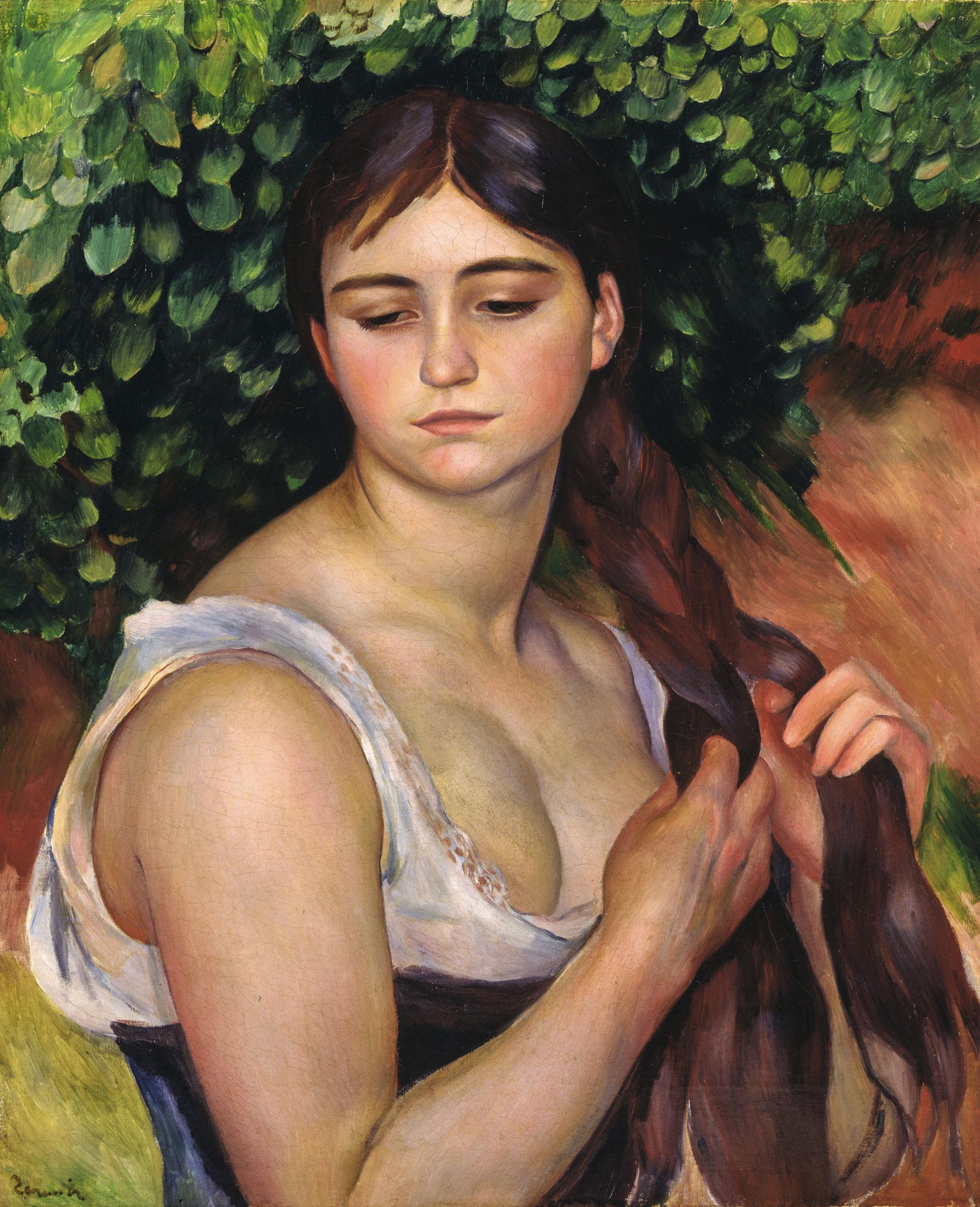Renoir La Trenza