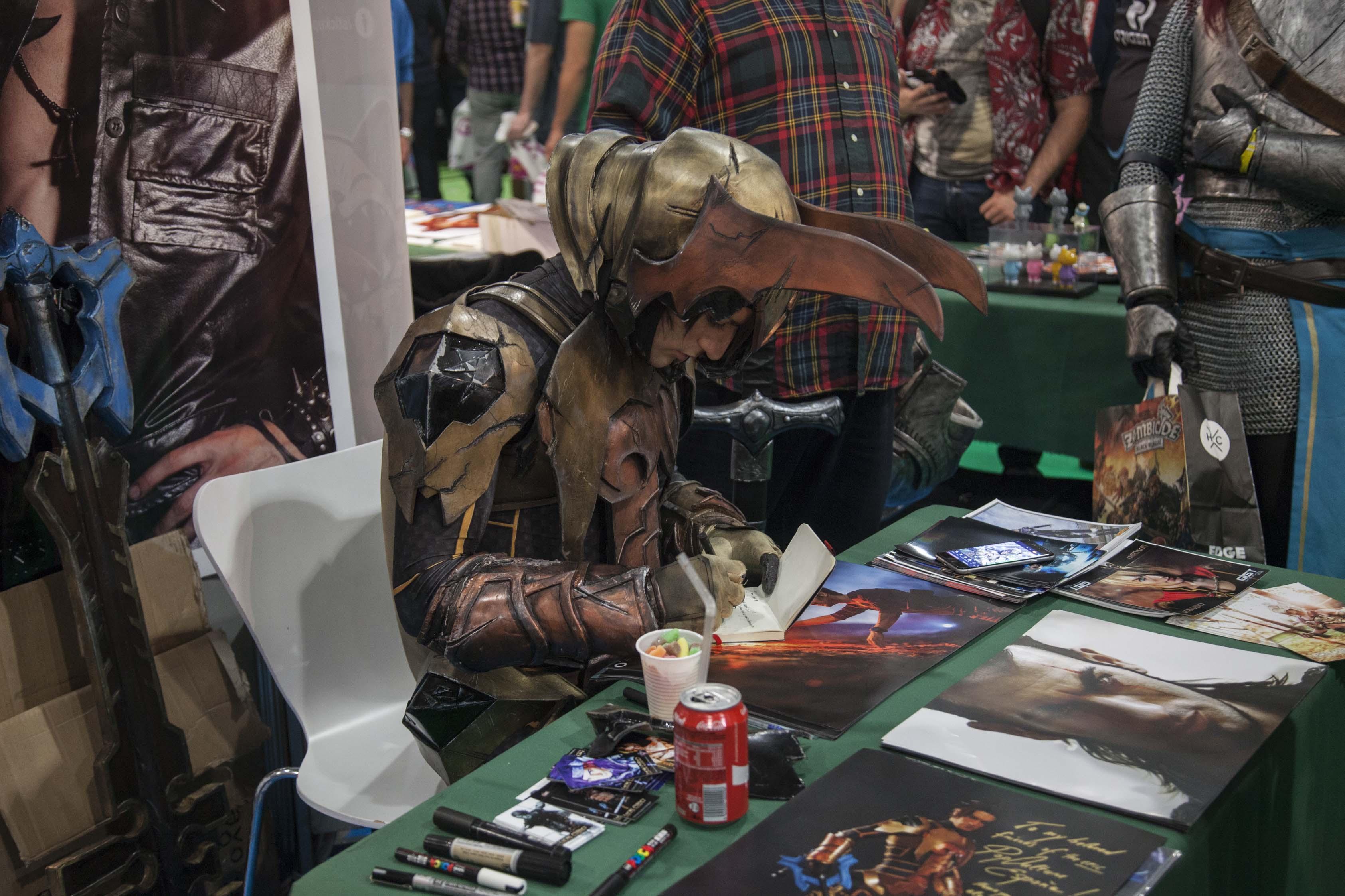 Leon Chiro es uno de los cosplayers profesionales más relevantes del momento. Y fue uno de los atractivos del MGE.