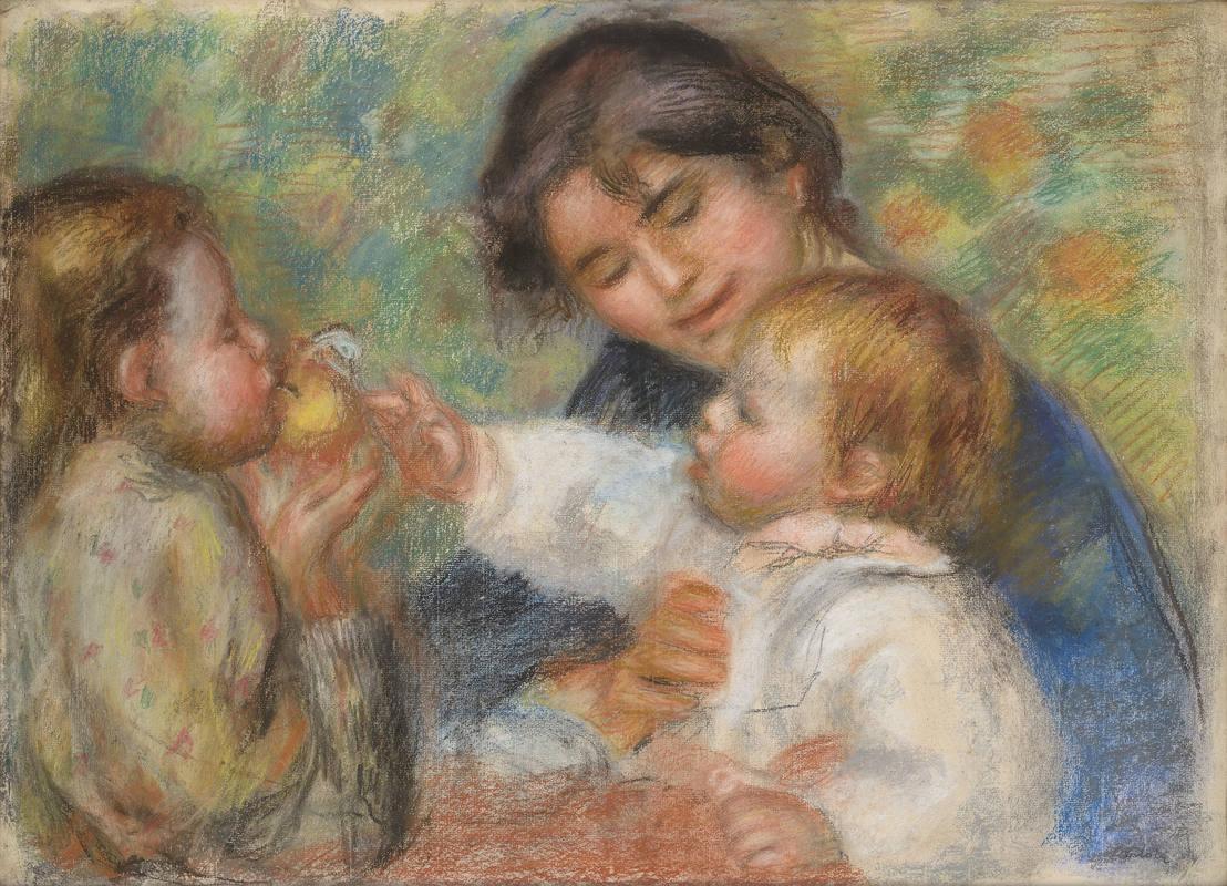 renoir-nino-con-manzana