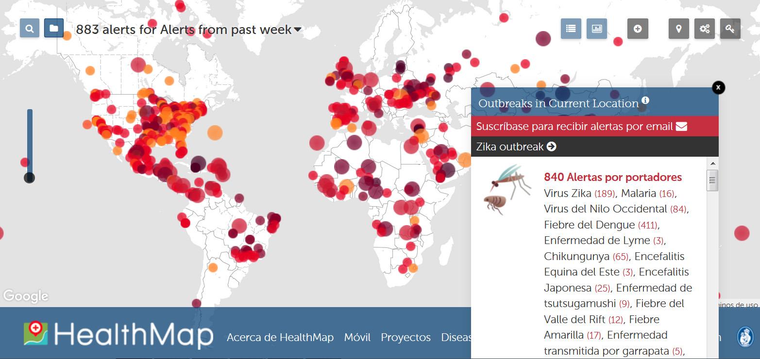 Big data healthmap