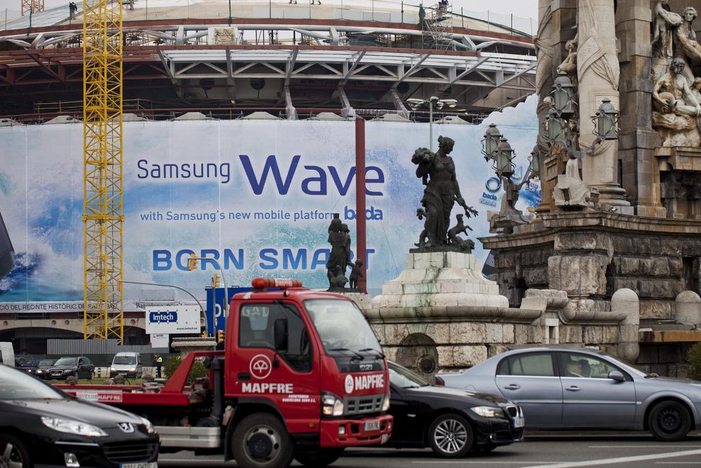 cartel anuncio tecnologia