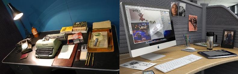 oficina analógica vs digital
