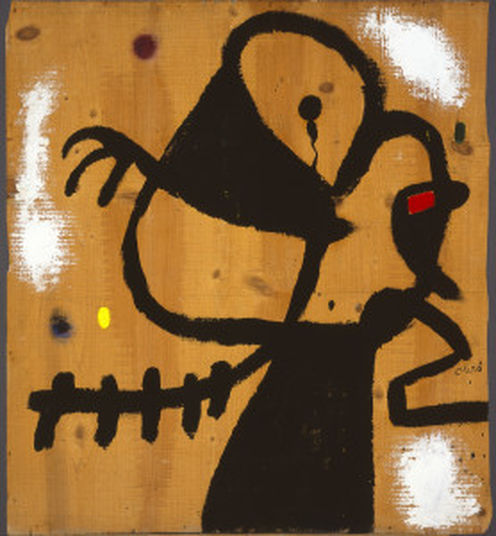Femme, oiseau / Mujer, pájaro, 1973 © Successió Miró 2016