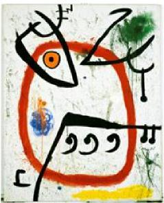 Joan Miró Mujer española, 1972 © Successió Miró 2016