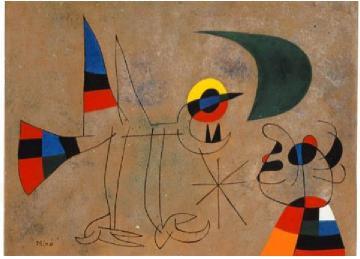 Alexander Calder Portrait of Joan Miró/ Retrato de Joan Miró, c. 1930 © Successió Miró 2016