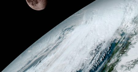 Tierra satélite GOES-16