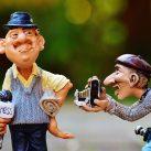 El año del periodismo. Figuras de periodista y fotógrafo