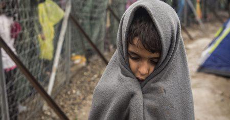 Comite de emergencia - niño refugiado
