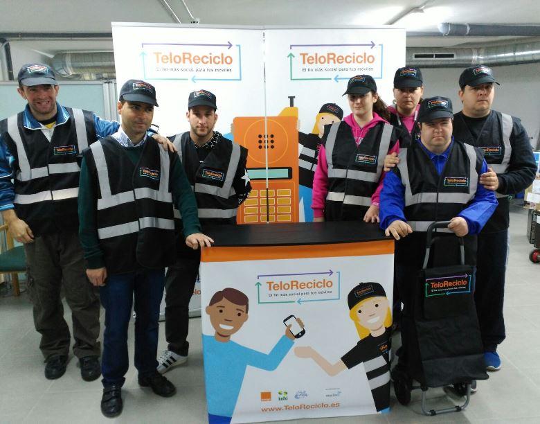 Participantes del proyecto TeloReciclo
