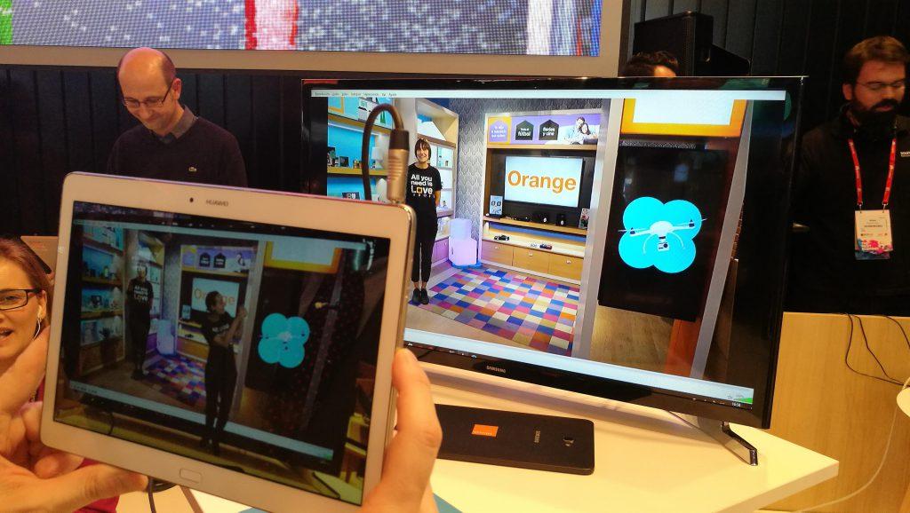 Demostración de realidad virtual aplicada a las smartstores de Orange