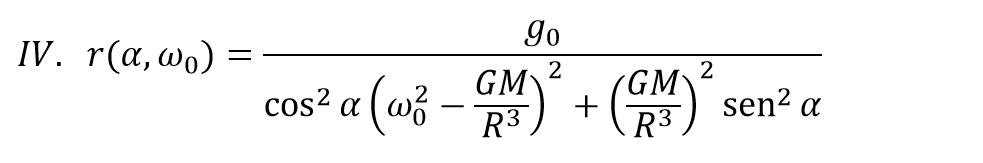 Ecuaciones radio