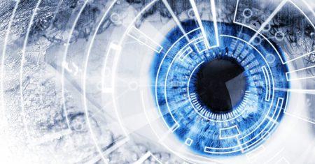 Ilustración ojos biónicos