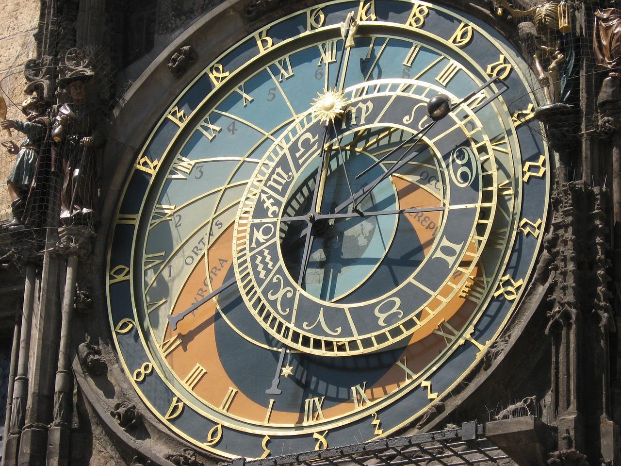 reloj de praga y nanotecnología