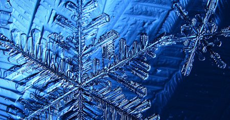 nanotecnología copos de nieve