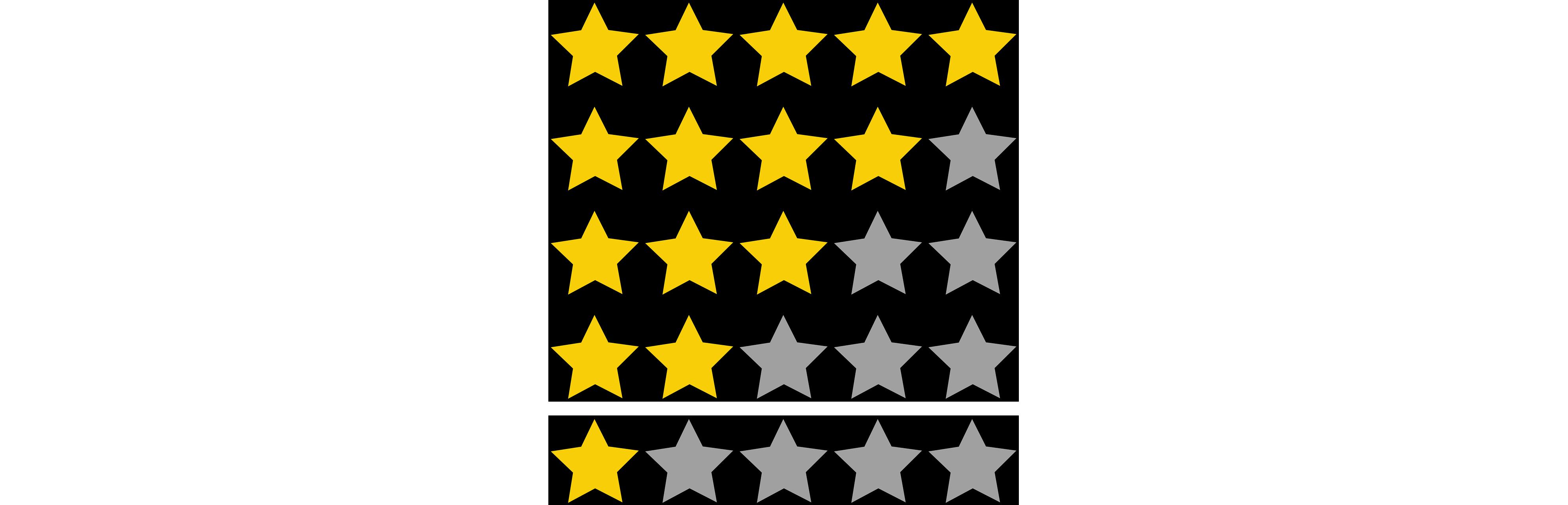 voto por estrellas
