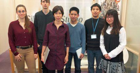 Videojuegos favoritos. El equipo de Game Data Science lo forman investigadores de varios países: Anna Guitart Atienza (España), Paul Bertens (Holanda), África Periáñez (España), Sovannrith Lay (Camboya), Guan Jun (China) y Peipei Chen (Taiwan). / Silicon Studio
