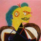 Retratos de Picasso. Retrato de Lee Miller vestida de arlesiana, 1937