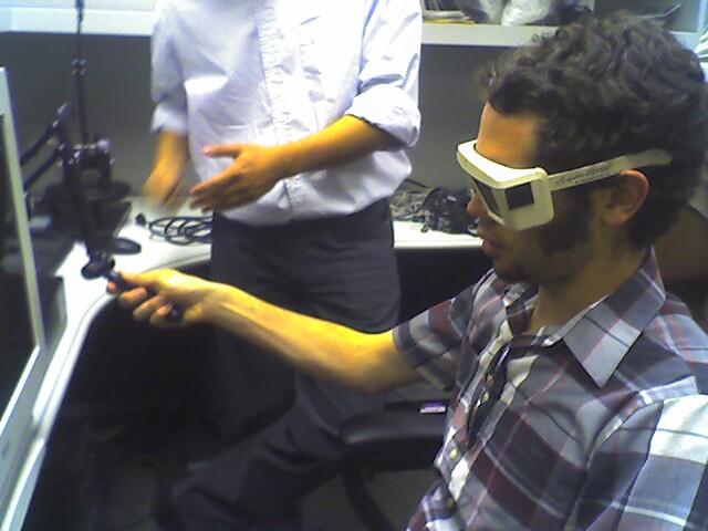 demostración tecnología háptica