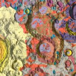 mapas crater Tycho
