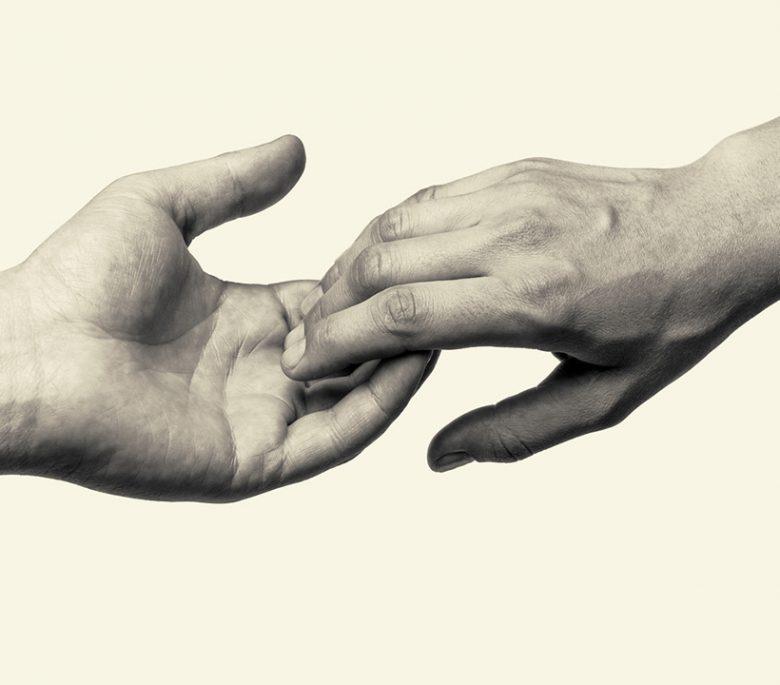 tecnología háptica manos