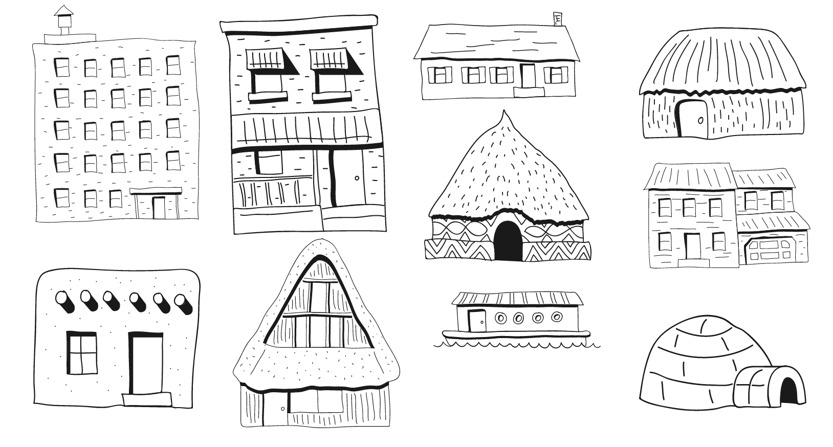 dibujo de casas autodraw